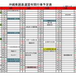 【2018年度】沖縄県囲碁連盟年間行事予定